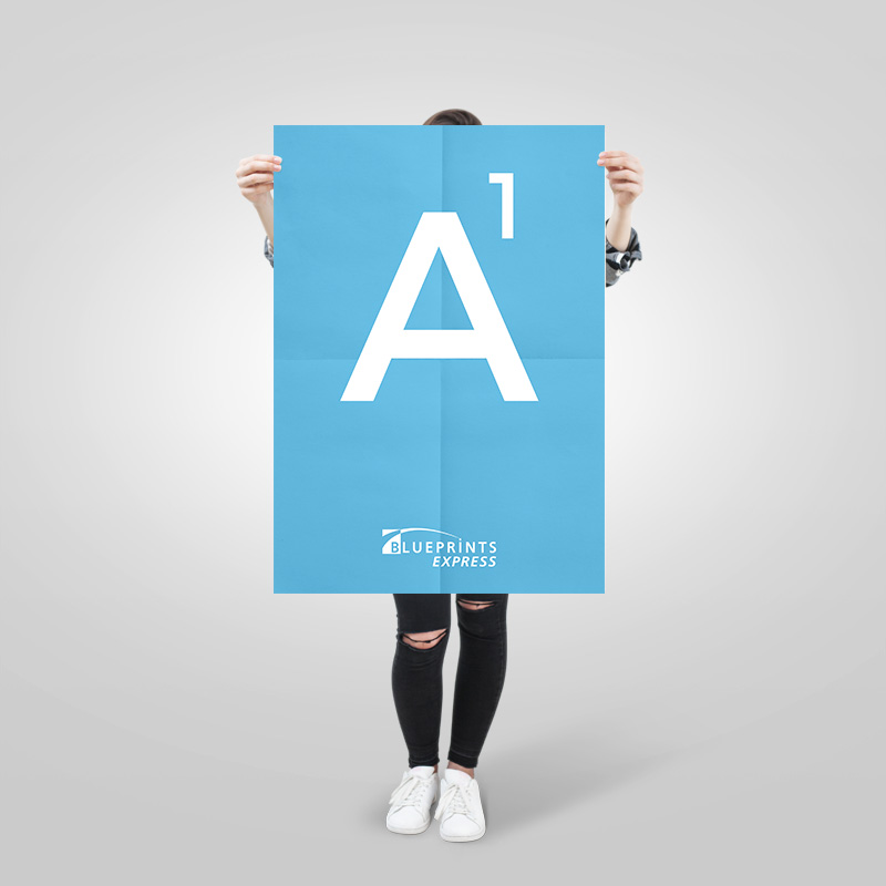Large format colour poster printing blueprints express a1 poster malvernweather Image collections
