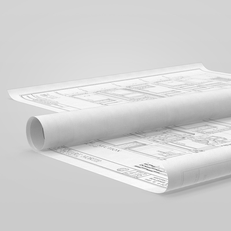 Large format bw cad printing blueprints express large malvernweather Image collections