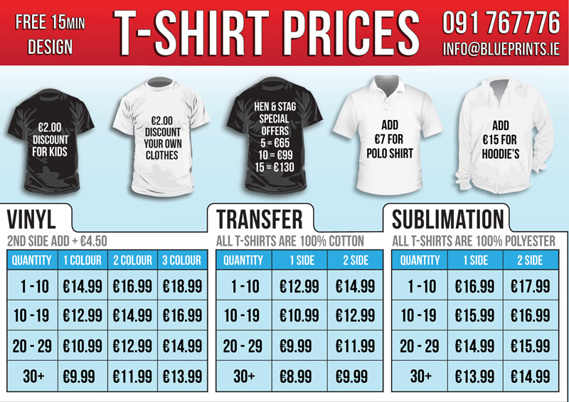 T-Shirts Offer