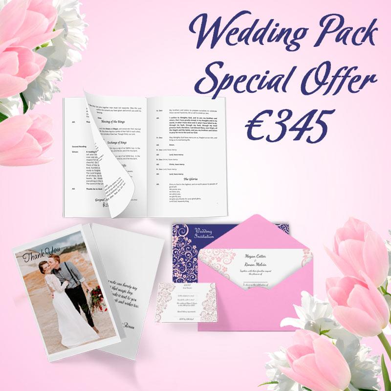 Wedding pack special offer blueprints express wedding pack special offer malvernweather Image collections